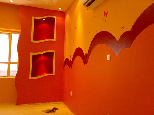 Escoger la pintura para interior pintores en malaga - Tipos de pintura para paredes ...